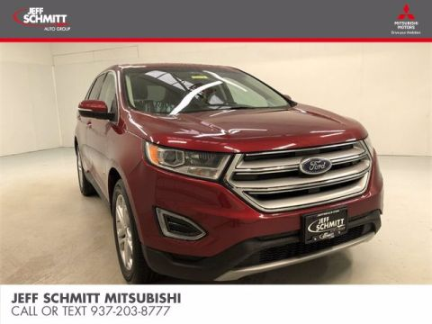 Pre-Owned 2018 Ford Edge Titanium AWD Sport Utility