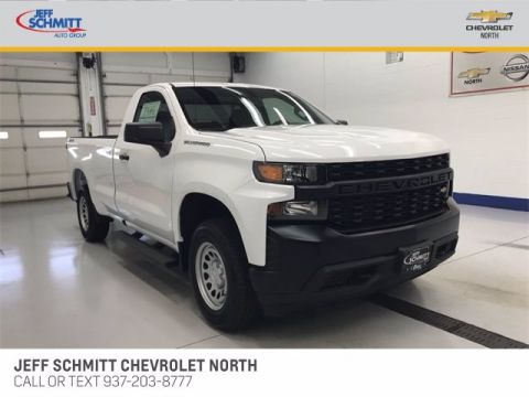 New 2020 Chevrolet Silverado 1500 Work Truck 4WD Regular Cab Pickup
